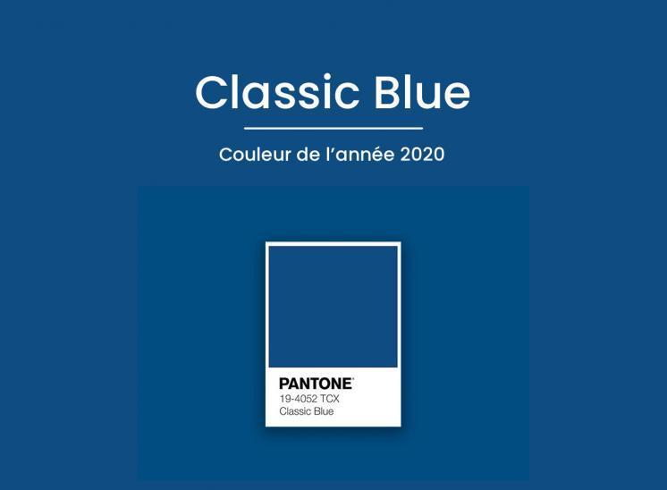 Classic Blue couleur de l'année 2020